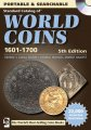 Krause Standard Catalog Of World Coins 1601-1700 CD 5th Edition